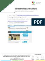Instructivo Evaluación de Desempeño Laboral de Docentes (1)