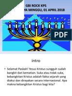 FT- Paskah 1 April 2018