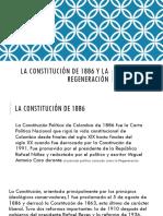 La Constitución de 1886