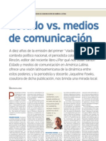 Estado vs. medios de comunicacion