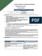 Cas 003- Analista de Sistemas