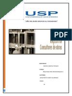 Consultor de Obras - Informe.