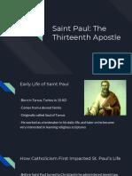saint presentation