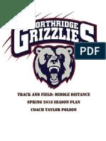 season plan- high school track