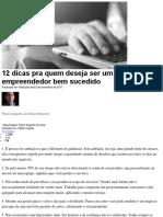 12 dicas pra quem deseja ser um empreendedor bem sucedido.docx