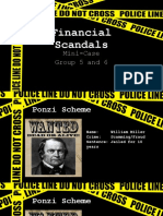 Financial Scandals