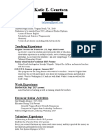 teaching resume updated 3