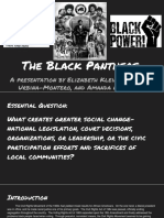 black panther party presentation