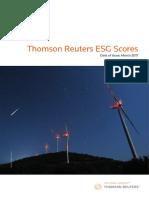 Esg Scores Methodology