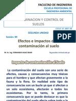 s9 Efectos e Impactos de La Contaminacion