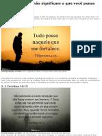 5 Versículos Que Não Significam o Que Você Pensa