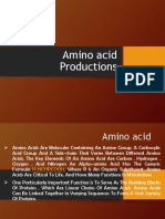 Lecture 6 Amino Acid Production