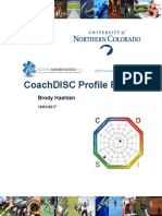 disc profile report