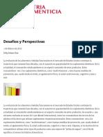 Desafios y Perspectivas _ 2012-02-01 _ Industria Alimenticia