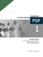 Helena Chavez.necropolitica La Politica Como Trabajo d