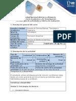 Guía de Actividades y Rúbrica de Evaluación - Ciclo de Tarea 3 - Evidenciar Cada Una de Las Estrategias Del Servicio e Implicaciones en La Cultura y Estructura Empresarial