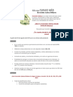 6 Inversión Azteca Dólares