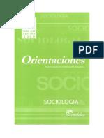 Sociología - Orientaciones
