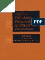 B. C. Craft_ M. Hawkins_ Ronald E. Terry-Applied Petroleum Reservoir Engineering (Second Edition)-Prentice Hall (1991)