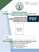 Formulir Pendaftaran Peserta Didik Baru