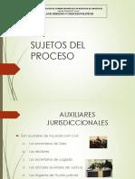 10ma Clase-Sujetos Procesales 2.