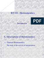 05 Introduction to Hermeneutics