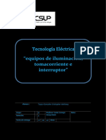 tecsup informe sobre tecnologia electrica