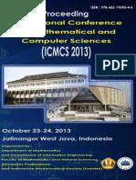 Proceeding ICMCS 2013