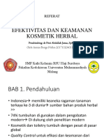 REFERAT Kosmetik Herbal- Annisa Bunga N