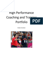 ses 337 hp coaching portfolio
