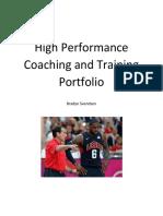 ses 337 hp coaching portfolio