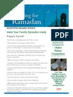 Ramadan Bulletin 2018