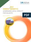 IRENA Leveraging for Solar PV 2017 Summary