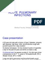 2. Acute Pulmonary Infection 1 - ZEN