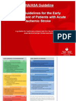 Guideline Acute Ischemic Stroke AHA 2018 (Translated to Bahasa)