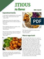 vegan newsletter