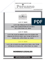 Ley Endeudamiento 2018