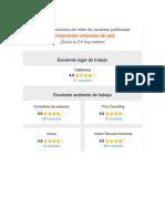 Selección Exclusiva de Miles de Vacantes Publicadas Porimportantes Empresas Del País