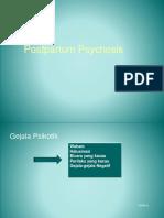 Psikotik Postpartum, Depresi Postpartum, Dan Postpartum Blues