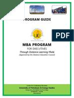 138376684 E MBA Student Program Guide