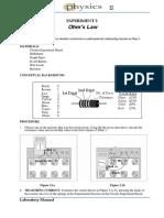 LAB Manual PHY 2 Circuit