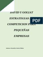 Graciela Cortez Nuñez - Dadid y Goliat, Estrategias de Competeción Para Pequeñas Empresas