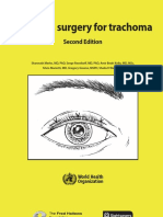 WHO Trichiaris Surgery Trachoma 2ndEdition