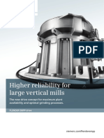 Higher Reliability for Large Vertical Mills