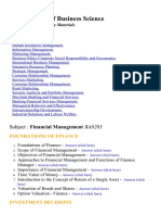 MBA  - Lecture Notes and Study material for college students