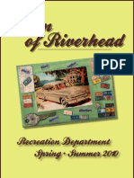 Town of Riverhead Spring Summer 2010 Recreation Brochure