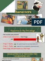 Characters in Folktales