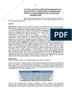 Traducción articulo Comparative Effectiveness of New Mechanical Irrigant Agitating Devices for Debris Removal from the Canal and Isthmus of Mesial Roots of Mandibular Molars