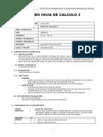 Contenidos Excel I