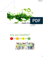 Health Promotion 1st Meeting
